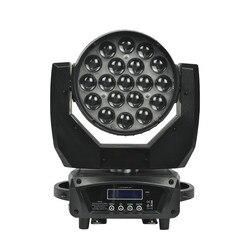 LED Zoom ruchome światło głowy do mycia RGBW Effcect dla oświetlenie DJ Disco Hotel pokaż ślubne KTV Bar LED lampa PAR światło laserowe 19X15W|Oświetlenie sceniczne|   -