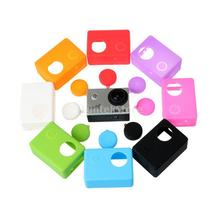 Soft Silicone Dust-proof Protective Case Skin for SJCAM SJ4000 SJ5000 Sport Camera