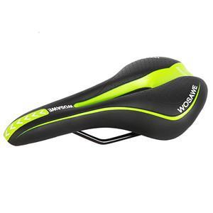 WOSAWE Bicycle Seat Mountain Road Racing MTB Bike Parts Cycle Racer Ride Cycling Saddle Seat Black Hollow Soft Cushion 4 Colors