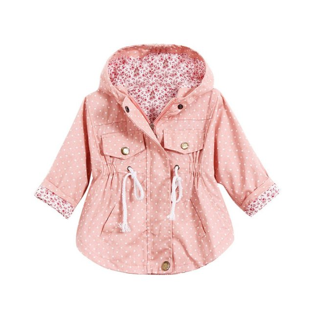 Bebé Capa de La Muchacha de Manga Larga prendas de Vestir Exteriores Niñas Niños Chaquetas Ropa de Abrigo