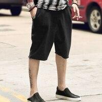summer new sweatpants shorts men British style loose sweatpants for men casual shorts male Haren beach short pants K1018
