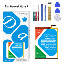 Original Da Xiong Lithium Polymer Battery HB417094EBC For Huawei Mate 7 4100mAh Mobile phone Replacement  Free Tools