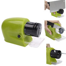 Professional Electric Knife Sharpener Swifty Sharp Motorized Knife Sharpener Rotating Sharpening Stone Sharpening Tool(China)
