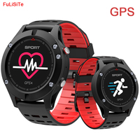 F5 GPS Smart Watch Waterproof Android Ios Wear Smartwatch Heart Rate Altimeter Thermometer Green Sport Watch