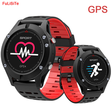 F5 GPS Smart Watch Waterproof Android ios wear Smartwatch Heart Rate Altimeter Thermometer Green Sport Watch for man women