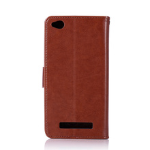 Luxury Leather Wallet Cover Phone Case For Xiaomi Redmi 4A / Redmi4A
