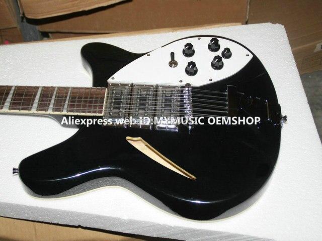 2fb0edb3a63e Venta al por mayor guitarras negro de 12 cuerdas 325 330 guitarra eléctrica  3 pastillas barato