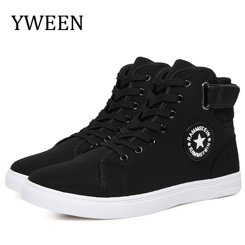 YWEEN Man Shoes Sneakers High-Style Fashion Spring Autumn Men's Top Lace-Up Solid