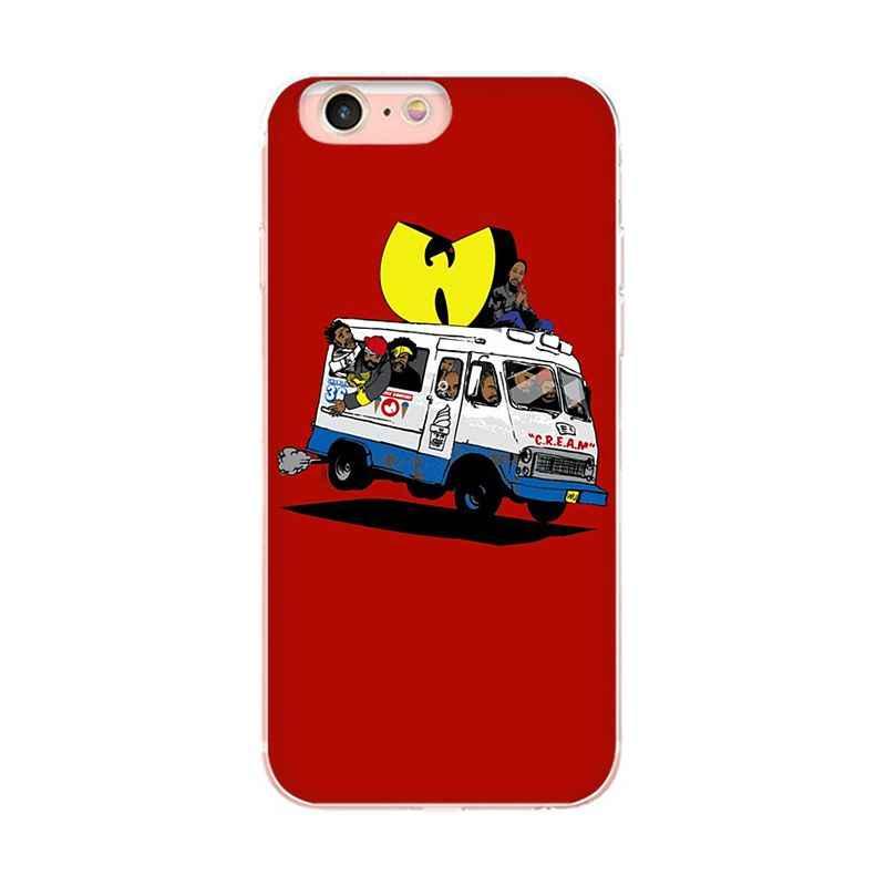 MaiYaCa Wu-Tang WuTang Clan สำหรับ iphone X XS XR XSMax กรณี TPU โปร่งใสสำหรับ Apple iphone 5 5s SE 6s 7 7plus 8 8plus