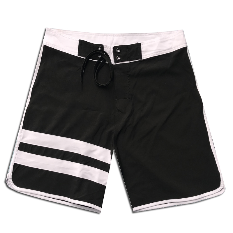 2019 New Quick Dry Summer Mens Beach Striped   Board     Shorts   Breathable Briefs For Men Swim Trunks Swim   Shorts   Beach Surfing Wear