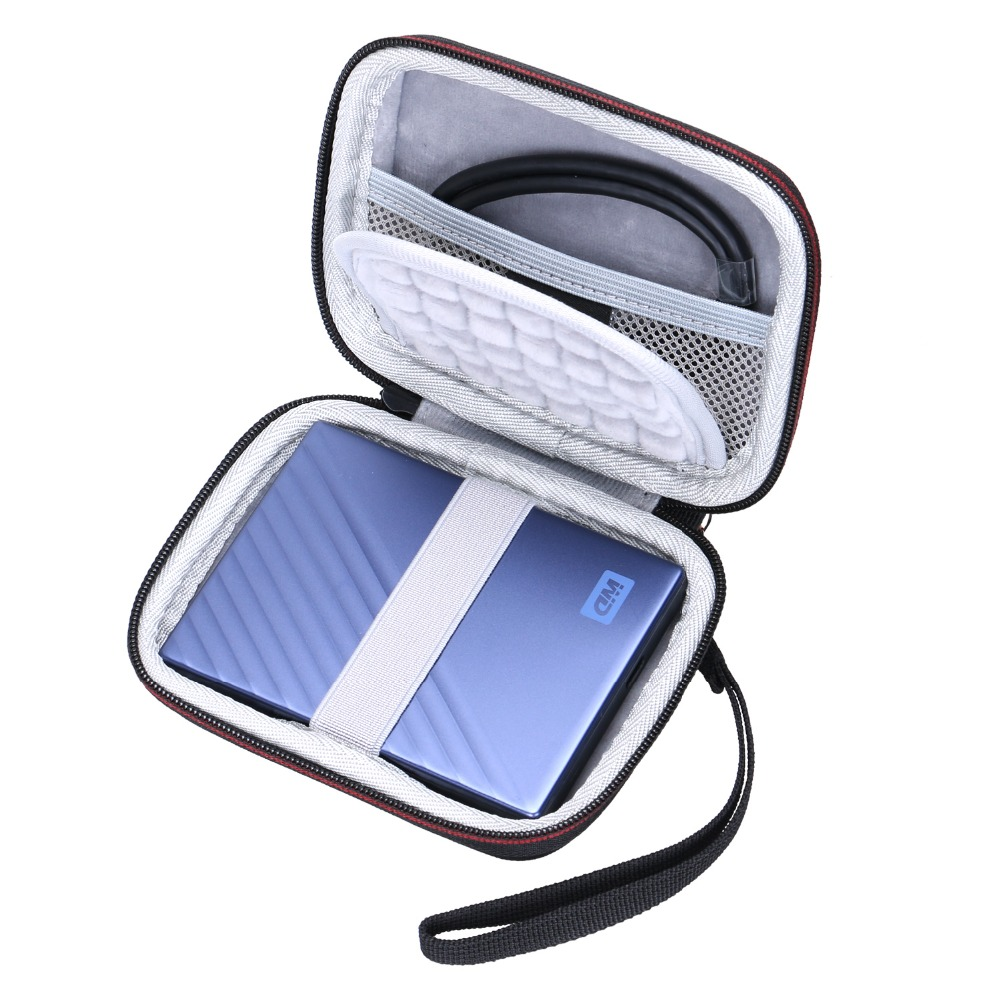 LTGEM EVA Hard Case For WD 1TB 2TB 4TB My Passport Ultra Portable External Hard Drive