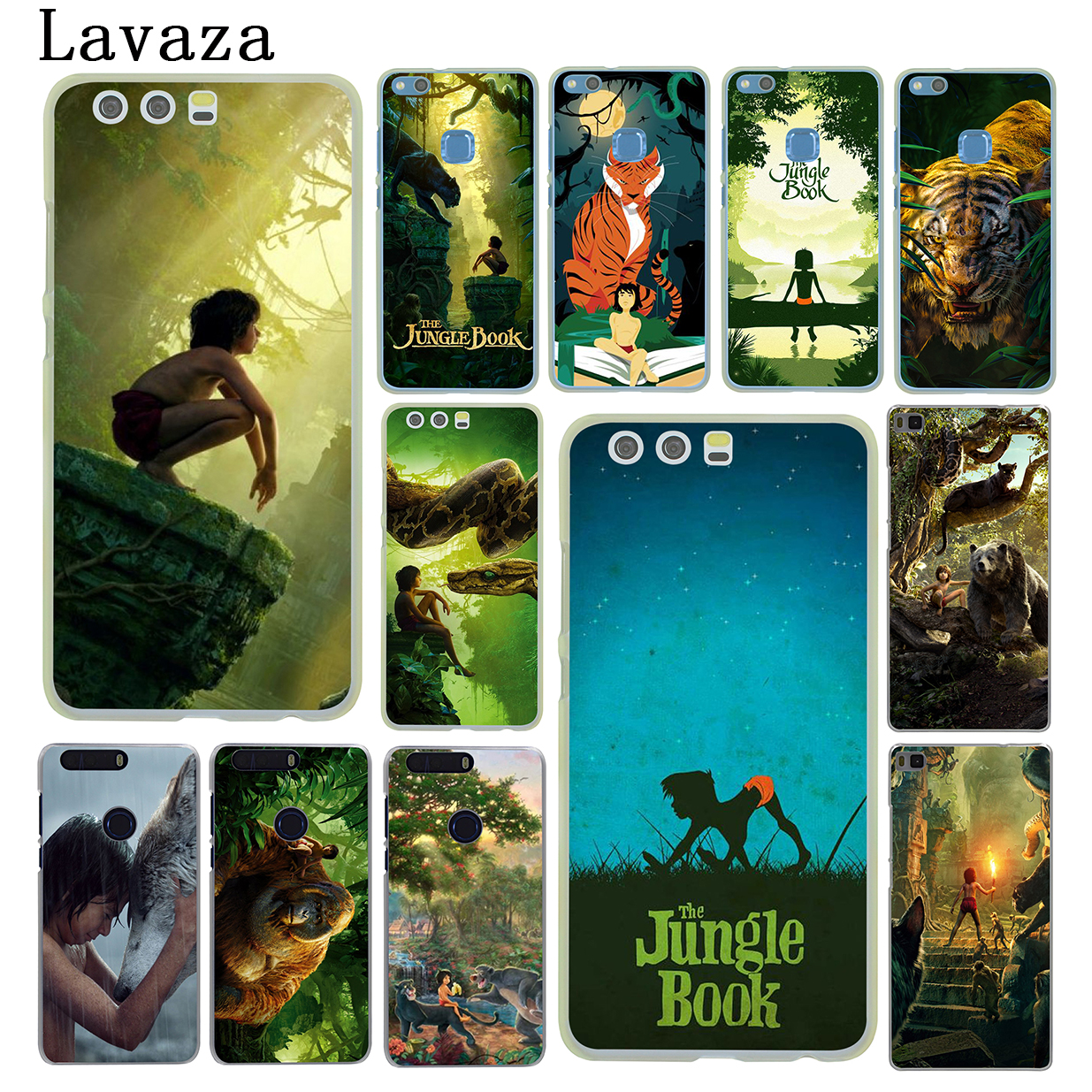 Lavaza The Jungle Book Hard Phone Case for Huawei P10 P6 P7 P8 P9 Lite Plus 2015 2016 Y3 Y5 Y6 II Y7 2017 G7 Cover