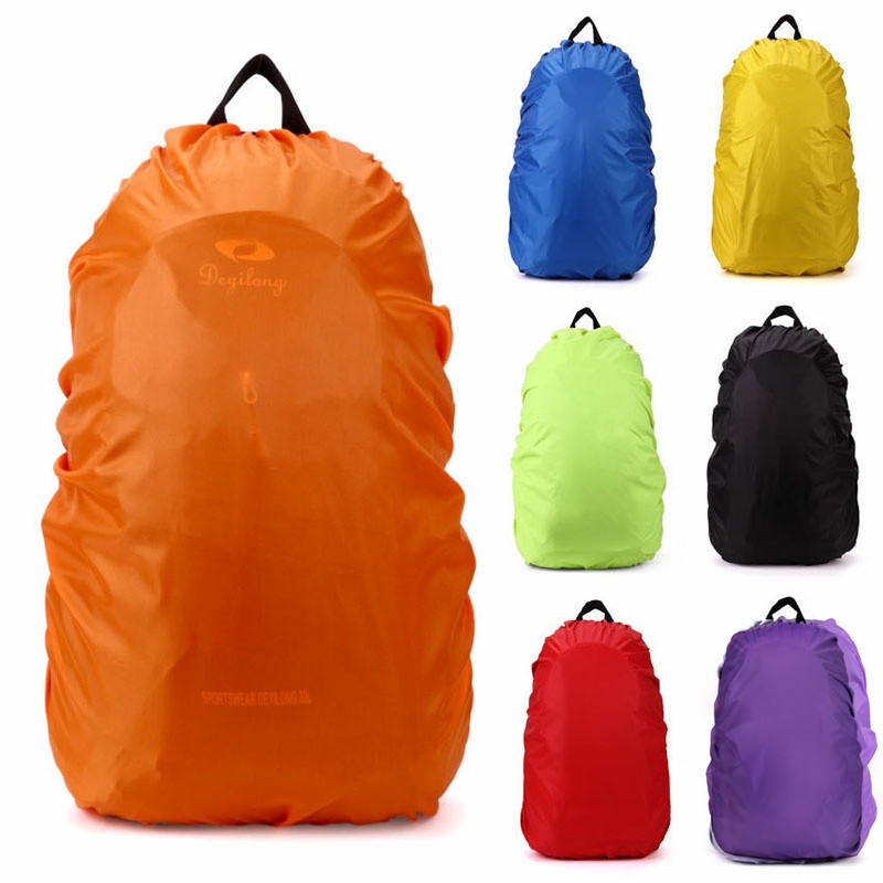 9 Colors Rain Cover Professional Backpack Rainproof Cover Dustproof Rainproof Cover Competely Waterproof