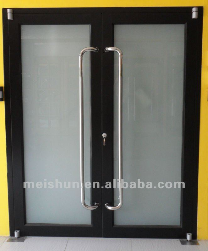Aluminum Profile Frame Glass Door For Commercial Used Ms 001 In Doors From Home Improvement On Aliexpress Com Alibaba Group