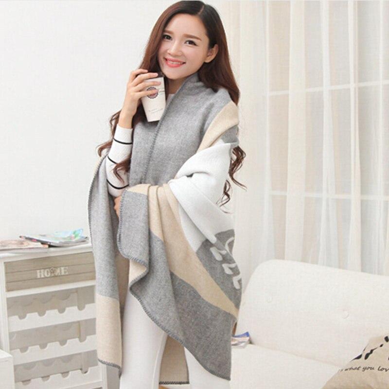 ღ ღ2017New moda mujeres oversized invierno cálido búho impresión ...