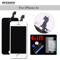 100 Tested Assembly LCD Display Digitizer For IPhone 5c LCDS Touch Screen 5c Replacement Panel With