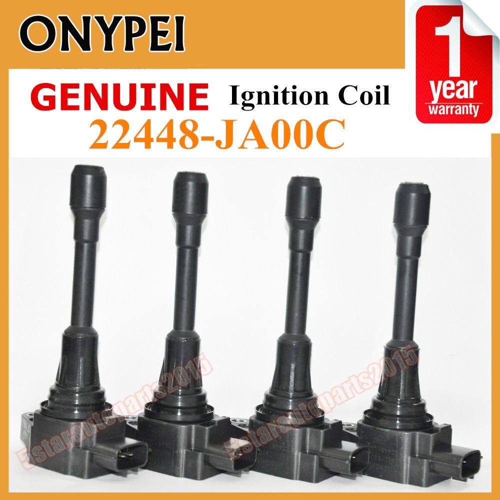 High Quality 22448JA00C Car Coils 22448-JA00C Ignition Coil For Nissan Altima Cube Sentra Infiniti FX35 FX50 M37 Q70 22448 JA00C