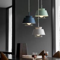 Nordic Restaurant Lampen Lantaarns Moderne Originaliteit Cafe Bar Modieuze Kleding Shop Ijzer Art Glas Hanglamp