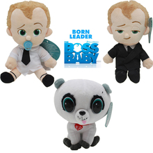 20CM NEW Dreamworks Movie The Boss Baby Plush Dolls Stuffed Plush Toys Baby Kids Dolls for birthday Christmas gift