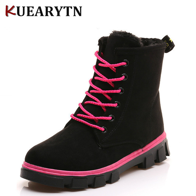 db4dfe44f Botas de nieve caliente calzado mujer botas de invierno mujer sapato  feminino botas mujeres botas zapatos
