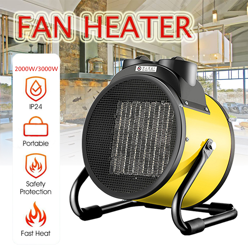 2000W/3000W Portable Ceramic Space  Electric Heaters High Power Air Heater Ceramic Fan Warmer For Industry Household Bathroom2000W/3000W Portable Ceramic Space  Electric Heaters High Power Air Heater Ceramic Fan Warmer For Industry Household Bathroom