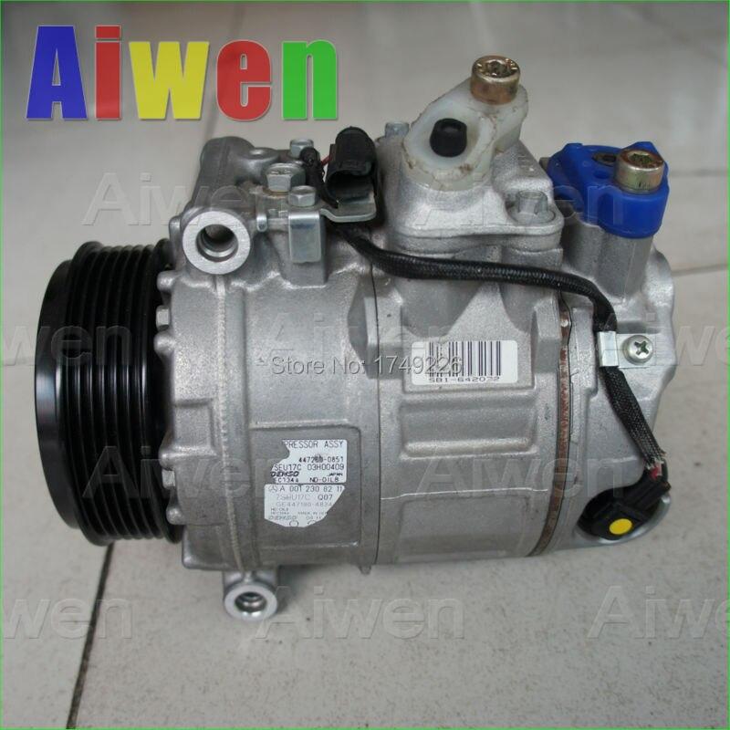 OE Genuine original compressor r134a automobiles mini air conditioner for car MercedeBenz W164 W251 V251 0012308211