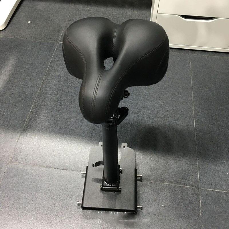 Scooter électrique pliant siège d'amortissement Xiao Base pliante selle rotative Absorption des chocs jetée pliante