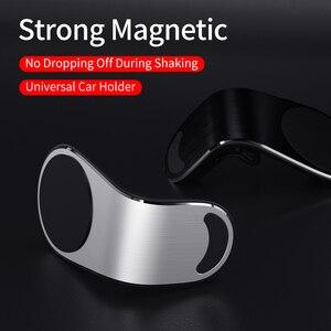 Image 3 - Mentale Magnetische Auto Telefoon Houder Air Vent Mount Mobile Smartphone Stand Magneet Ondersteuning Mobiele In Auto Voor Iphone Samsung Lg
