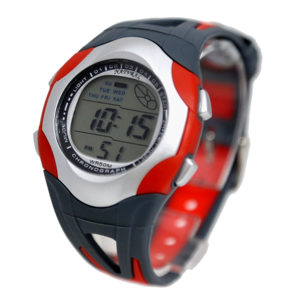 Wholesale 5PCS./Lots Alarm, Chronograph, Testing 30m Water Resistant, Stop Watch, Back Light Men Ladies Digital Watch DW313