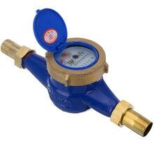 """Mayitr счетчик воды DN20 3/"""" Домашний садовый водопроводный счетчик холодной воды для калибровки"""