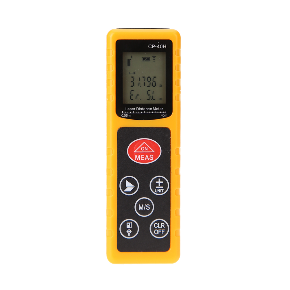 1mm High Precision Laser Level 40m Range CP-40H Mini Handheld Digital Infrared Laser Range Finder Distance Meter Measuring Tool cp 40p 60p 80p 100p the new mini handheld laser range finder 40 m 100 meter distance meter