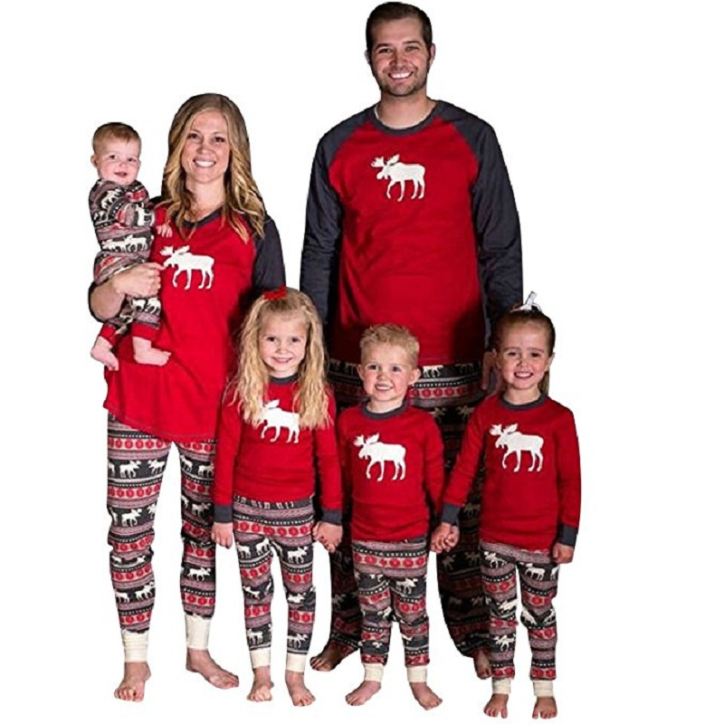 Aliexpress.com : Buy Freeshipping Matching Family Christmas Pajamas ...