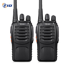 2pcs TID TD-V2 Walkie Talkie Handheld 16CH UHF 400-470MHz Portable Radio Station CB Radio Communicator Hf Transceiver telsiz(China)