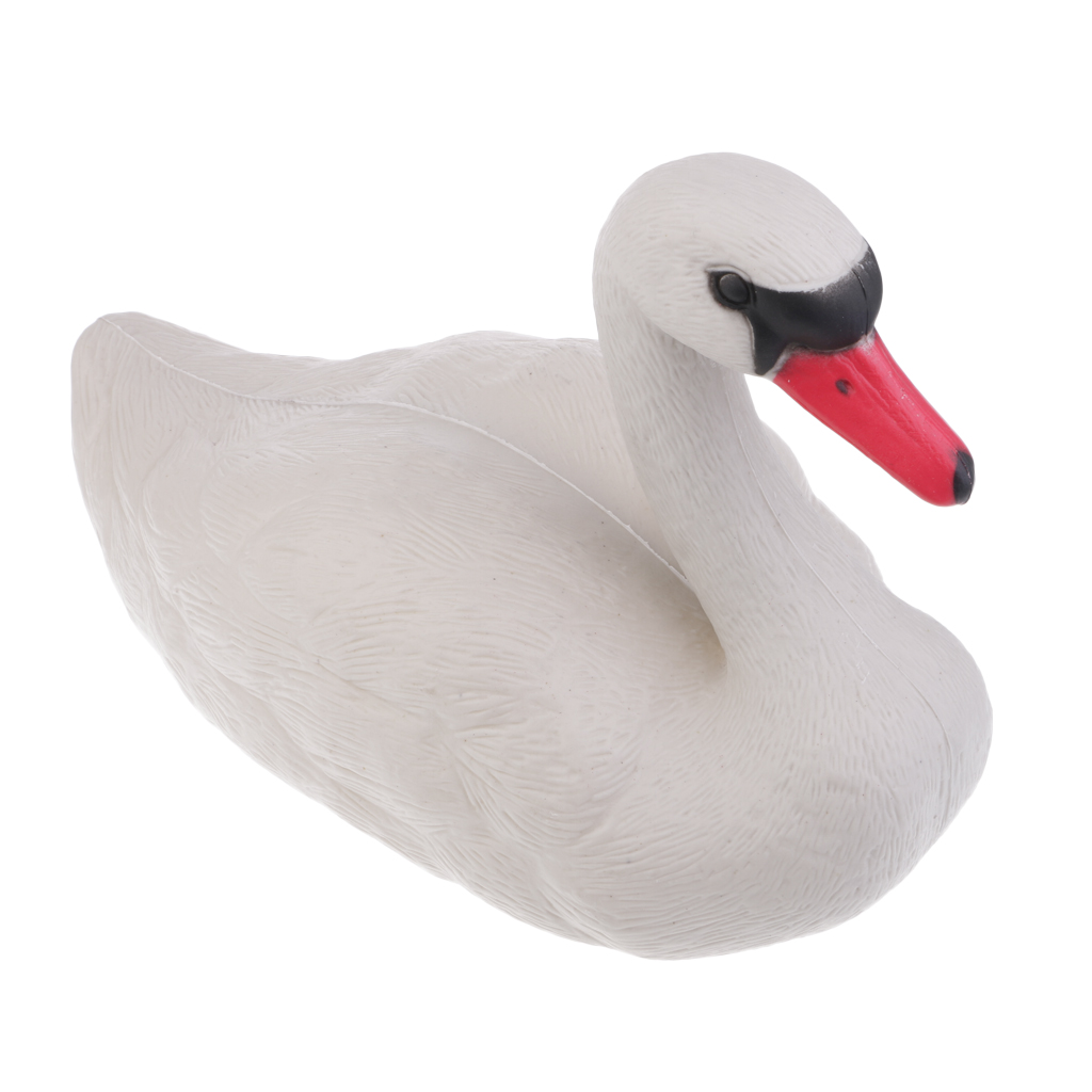 Foldable Floating 3D Swan Hunting Decoy with Weighted Keel Garden Pest Deterrent Repeller Decoration-in Hunting Decoy from Sports & Entertainment