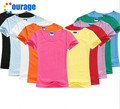 Summer Women t shirt Solid Cotton Short Sleeved Women's T-shirts Blank Tops tees t shirts women clothing Slip  19 Colors #V0