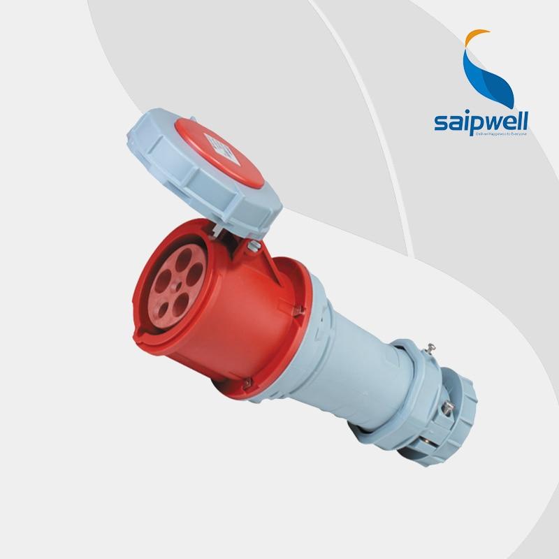 IP67 5P 63A Waterproof Industrial Electrical Socket Connector / Electric Switch and Socket Connector (SP-1121)