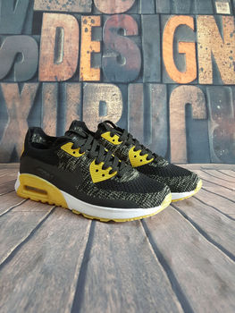 Nike 90 Air Max Men's Nike Air Max 90 Ultra 2.0 Flyknit Men's Running Shoes Outdoor Sneaker Official Original  Max 90 Shoes