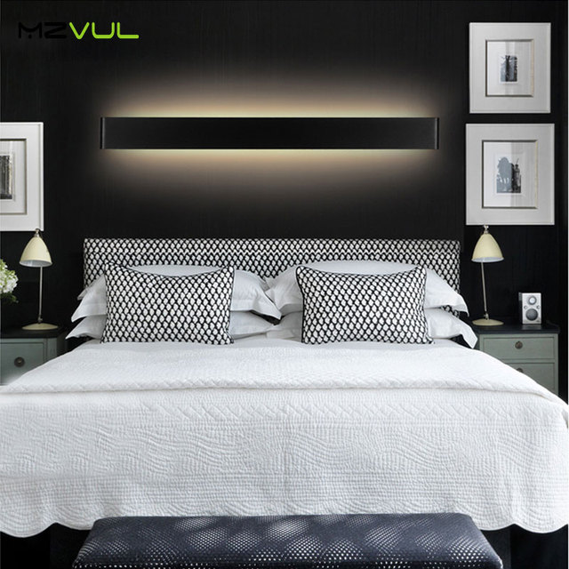 New Design Modern 6w 14w Aluminum LED Wall Lamps for living room bedroom as Decoration Sconce Light 90-260V lamparas de pared