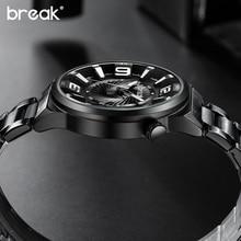 Zegarek męski BREAK srebny