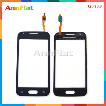 """50pcs/lot High Quality 4.0"""" For Samsung Galaxy Ace 4 G313 G313H G313F Touch Screen Digitizer Front Glass Lens Sensor Panel"""
