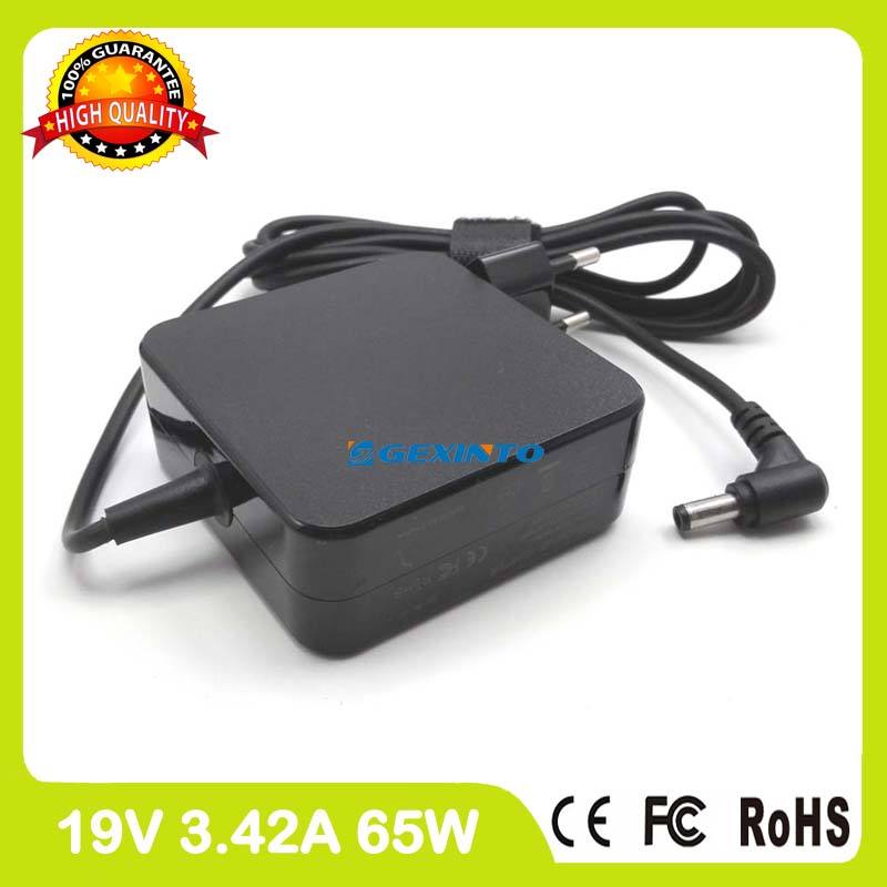 19V 3.42A AC Power Adapter For Asus laptop Charger A450VB A450VC A450VE A455LB A455LD A455LF A550CA A550CC A550DP A550LA EU Plug