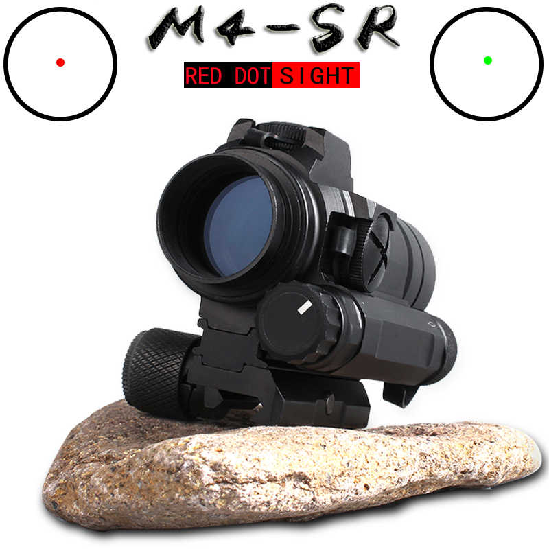 M4 Professionele red dot Sight Combinatie Sight voor 20mm rail rifle airsoft outdoors jacht scope riflescope hunting optics
