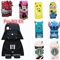 Anime Stitch Minions 2015 Star Wars Darth Vader M & M Frijol Hello kitty Minnie Starbuck Fundas Para BQ Aquaris E5 3G y 4G P20