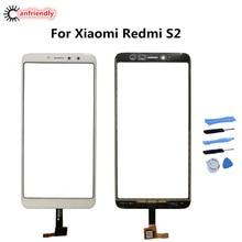 Xiaomi redmi s2 s 2 터치 스크린 수리 교체 터치 패널 전화 액세서리 xiaomi redmi s2 용 전면 유리 부품 new