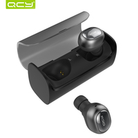 PLAZA QCY Q29 Business Bluetooth EarphoneS Wireless 3D Stereo HeadphoneS And Power Bank For Iphone 7