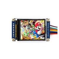 1.8 인치 LCD 디스플레이 모듈  128x160 픽셀  SPI 인터페이스  LED 백라이트  임베디드 컨트롤러 포함  디스플레이 색상: RGB  65K 색상