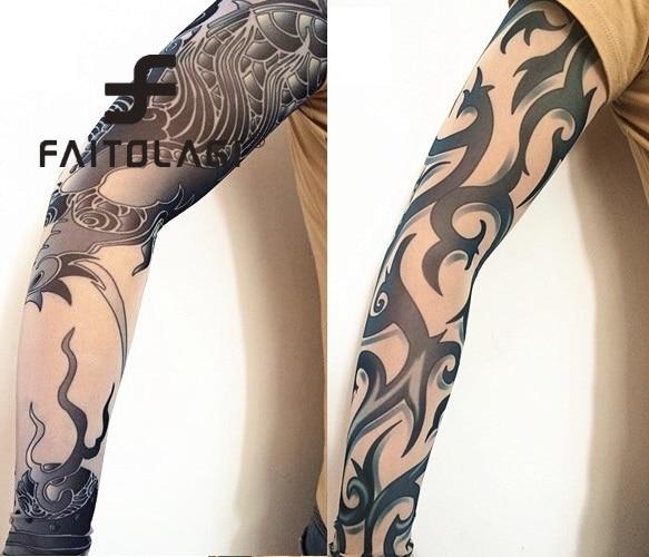 Mujeres Hombres tatuaje estampado brazo caliente moda ...