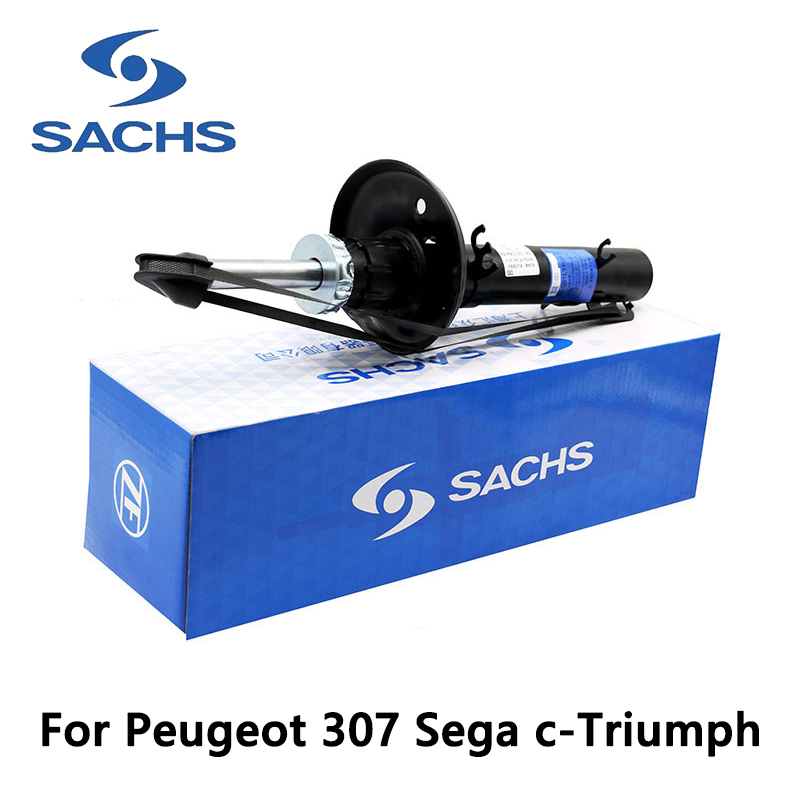 Sachs front left car shock absorber for Peugeot 307 Sega c-Triumph auto part