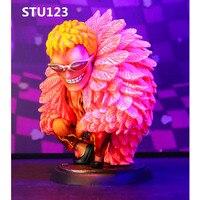 ONE PIECE GK Evil charm Xiaotang Oka Shichibukai Donquixote Doflamingo Q version PVC Action Figure Collectible Toy Box N571