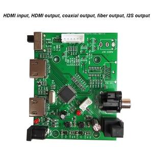 Image 3 - Lusya HDMI/MHL a IIS I2S scheda ricevitore HDMI IIS estratto separato Audio I2S/DSD/scheda interruttore convertitore ottico/coassiale T0731